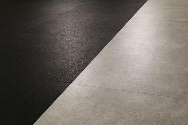Debolon - podłoga winylowa imitująca skórę.