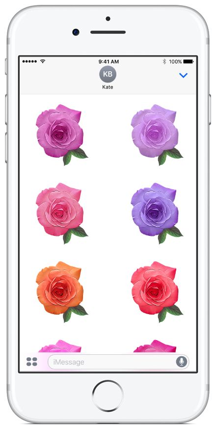 Roses sticker pack available on the App Store. #roses #flowers #stickerpacks #stickers