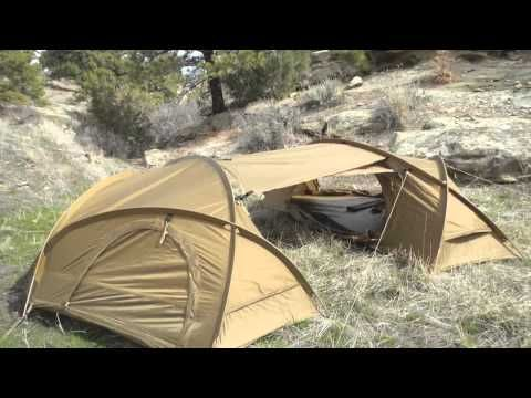 Mountain Hardwear Hunker 4 Season Military Tent Review by SKD
