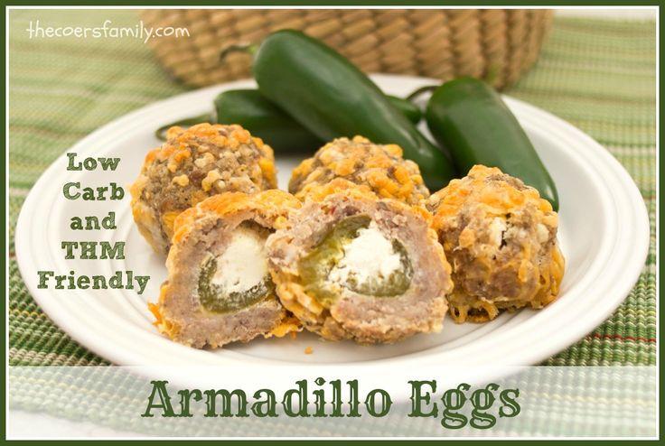 Armadillo Eggs} (S) Armadillo Eggs are sausage balls stuffed with ...