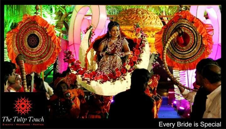 Bride entry... every bride is special...