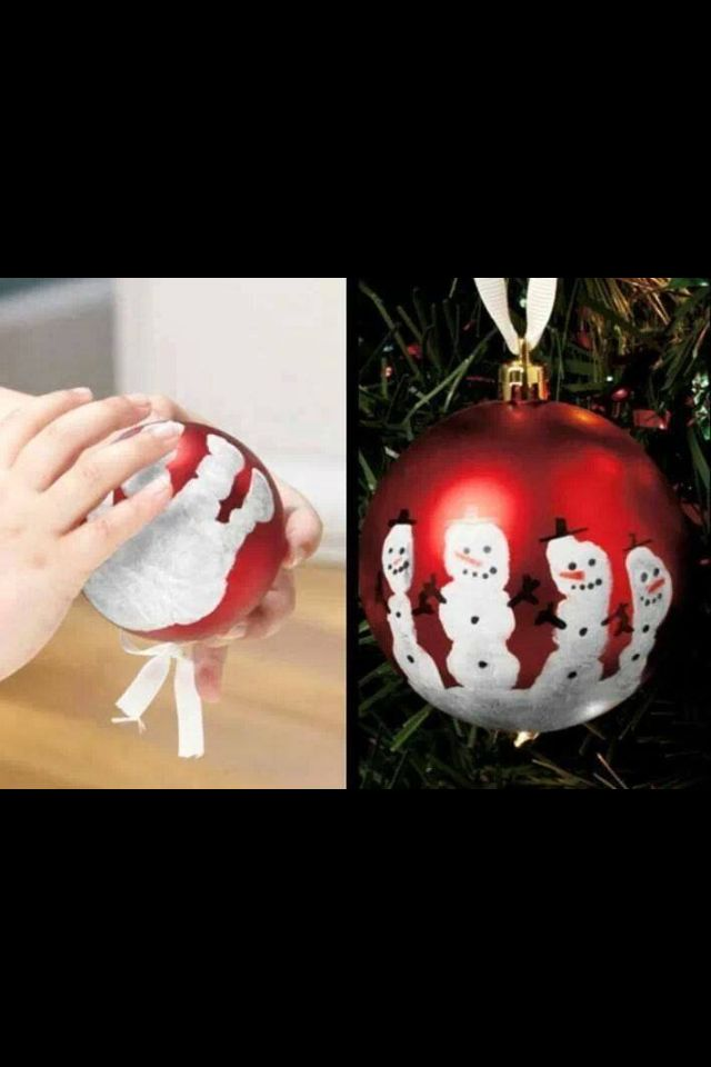 Cute Kid's Christmas Craft / Parent Gift Idea