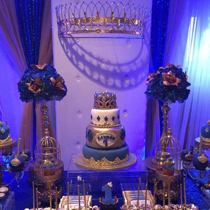 Royal prince Birthday Party Ideas   Photo 1 of 34
