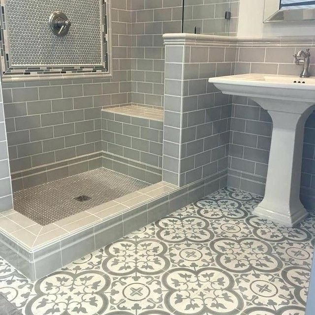 Great Tile Ideas For Small Bathrooms Best Bathroom Flooring Bathroom Flooring Minimalist Bathroom