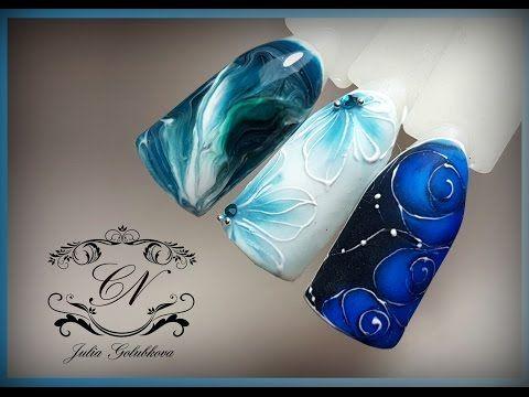 @pelikh_♥Новые наборы от Nika Nagel ♥Натуральные текстуры и цветы♥ - YouTube