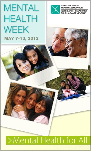 Mental Health Week— May 7-13, 2012