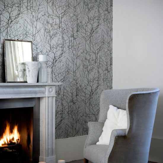 Good Sonbahar Duavr Kagidi, Grinin Farkli Tonlari Shades Of Grey Wallpaper. Wallpaper  Living RoomsGray Living RoomsLiving Room IdeasGrey ...