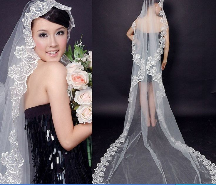Google Image Result for http://i00.i.aliimg.com/wsphoto/v0/432880936/Free-Shipping-Wedding-Veil-Bridal-Veil-Lace-long-Wedding-Veil.jpg