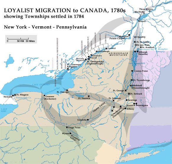 Histories: Post-Revolution Migration to Canada & Settlement: VanValkenburgh-Vollick-in-Canada (a collaborative project)