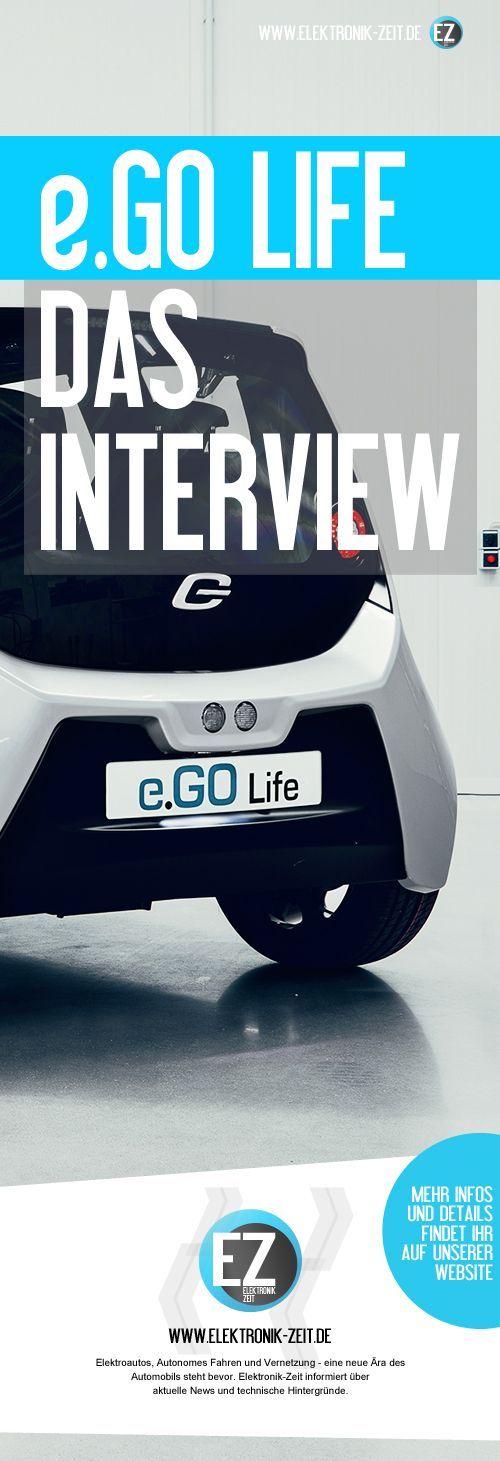 Elektroauto e.Go Life - Das Interview - Details über Produktion, Entwicklung, Industrie 4.0 und Zukunftspläne. Bezahlbare Elektromobilität durch Industrie 4.0. Mehr Details und Infos zum neuen Elektrofahrzeug e.GO Life finden Sie auf unserer Website: www.elektronik-zeit.de
