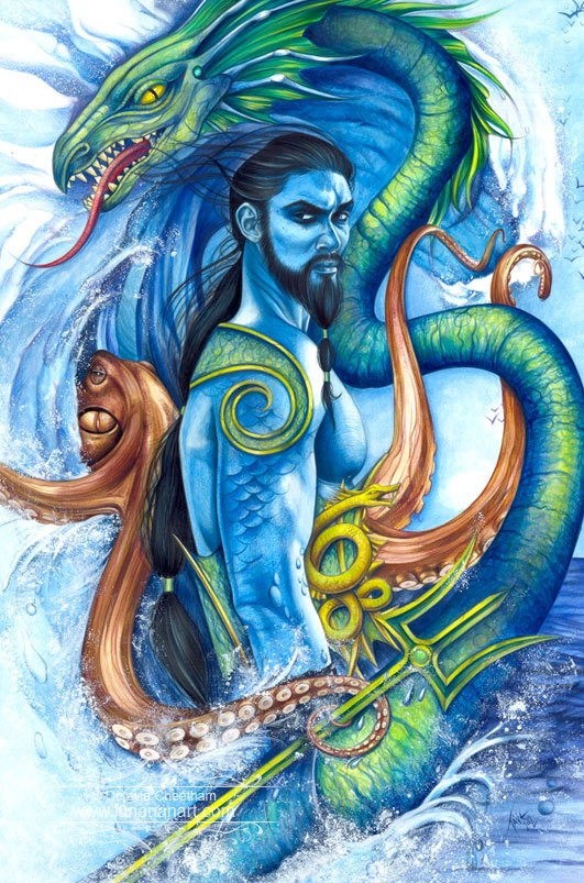 gods of the sea In the triumph of the sea gods, steven sora argues compellingly that homer's tales do not describe adventures in the mediterranean, but are adaptations of celtic .
