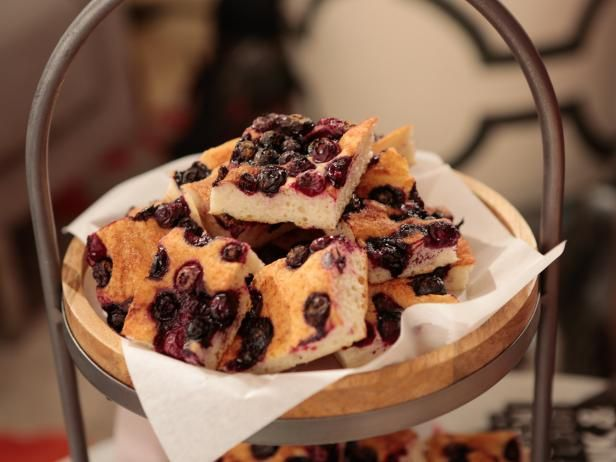 Get Blueberry Focaccia Recipe from Food Network