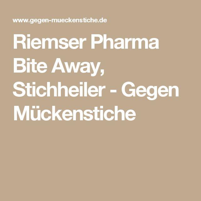 Riemser Pharma Bite Away, Stichheiler - Gegen Mückenstiche