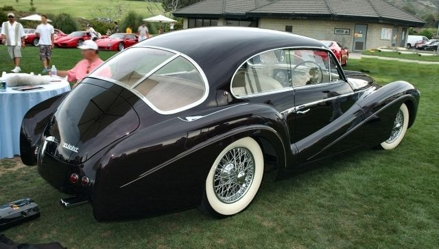 1953 Delahaye 235M Pillarless Coupe...Brought to you by Agents of #CarInsurance at #HouseofinsuranceEugene
