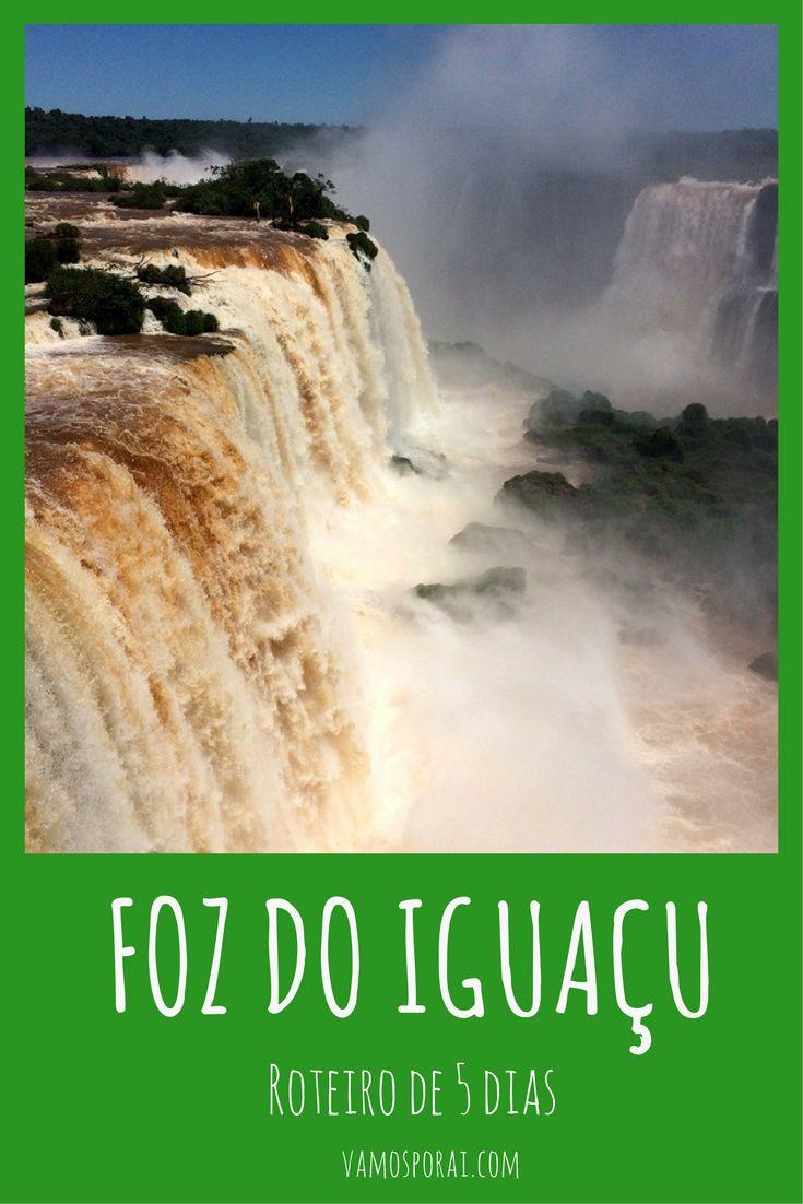 Quer conhecer as Cataratas do Iguaçu, o Parque das Aves, fazer compras em Ciudad del Este, jantar na Argentina e muito mais? Veja nosso roteiro de 5 dias na cidade.