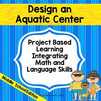 This cooperative project involves applying many math and language skills to a real life situation.  Teams are tasked with planning an aquatic center.  Specifications include rectangular and circular pools which allow students to practice older skills such as perimeter, area, and volume of rectangles and prisms, as well as newer skills such as circumference, area, and volume of circles and cylinders.