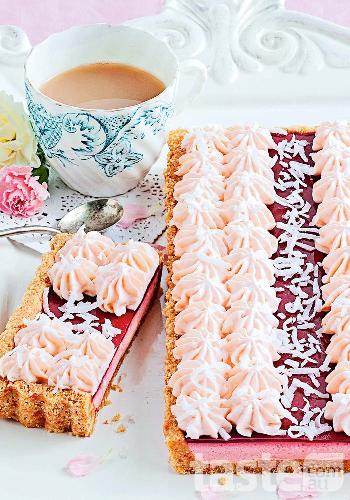 Arnott's Iced VoVo tart - The Australian classic transformed into a delectable tart