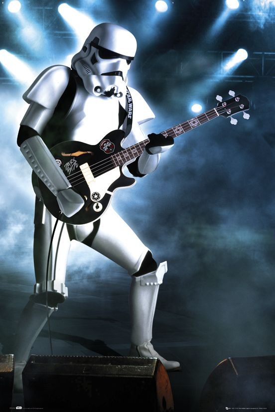 Stormtrooper - Star Wars Poster - available from http://www.posterdiva.com/star-wars-posters-1/