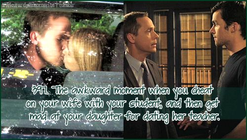 Awkward moments from the TV show, Pretty Little Liars. Please check the masterlist before submitting...
