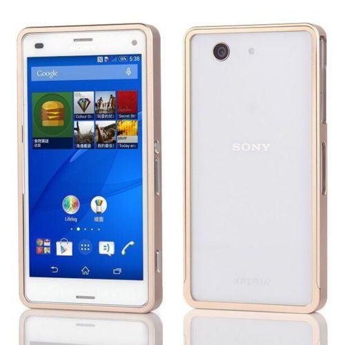 Aluminium-Bumper-fuer-Sony-Xperia-Z3-Compact-Handy-Huelle-Schutz-Tasche-Case-Cover