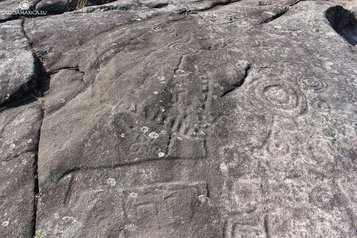 Información sobre el Centro y el Área Arqueolóxica de Tourón y sus petroglifos, en Ponte Caldelas