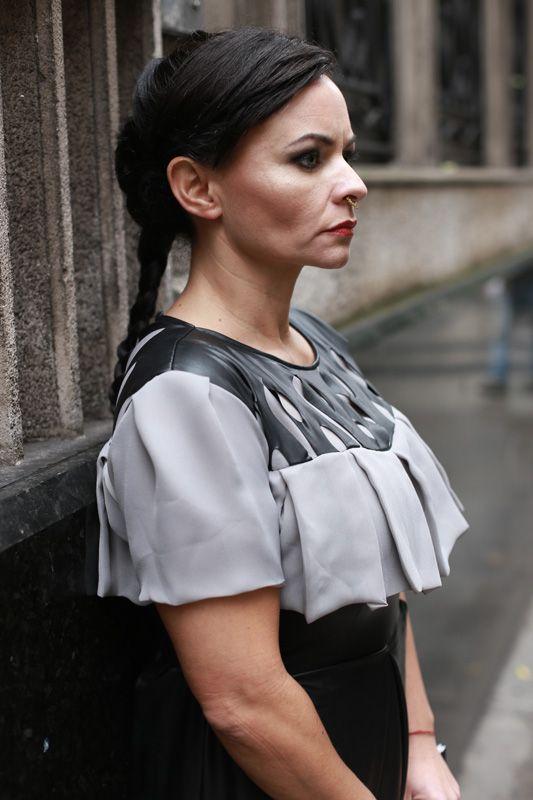 Modelo Cinthia Ruiz PH Roman Ledesma Estilismo y diseños Flor Cuevas Maquillaje Anahí Aramburu
