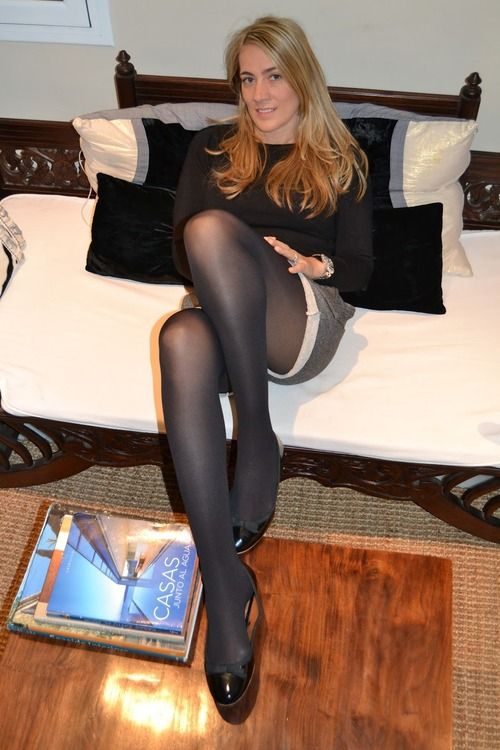 On Pantyhose Face