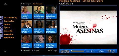 Peliculas mexicanas en TVolucion