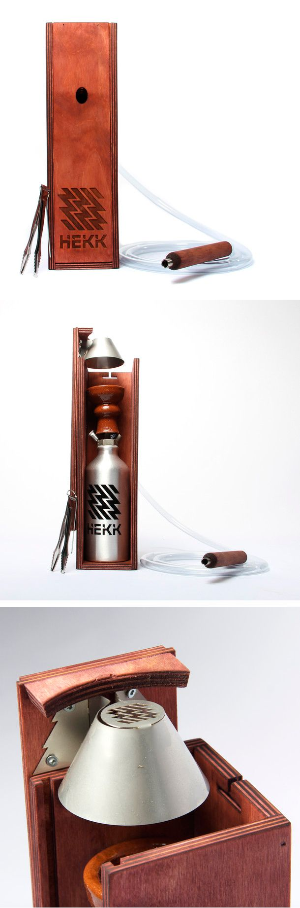 Hekk Modern Hookah Pipe   Designed To Stay Safe And Functional Even When  Knocked Around.