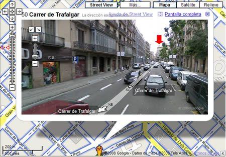 """Practicar """"haber"""" y """"estar"""" junto con el vocabulario de la ciudad gracias a Google Maps."""