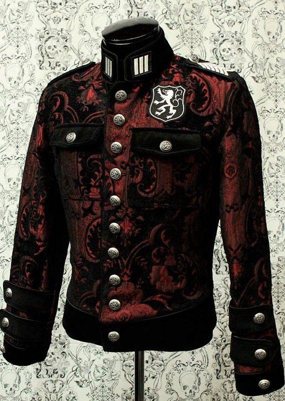 Men's Royal Marine Jacket by ShrineofHollywood on Etsy