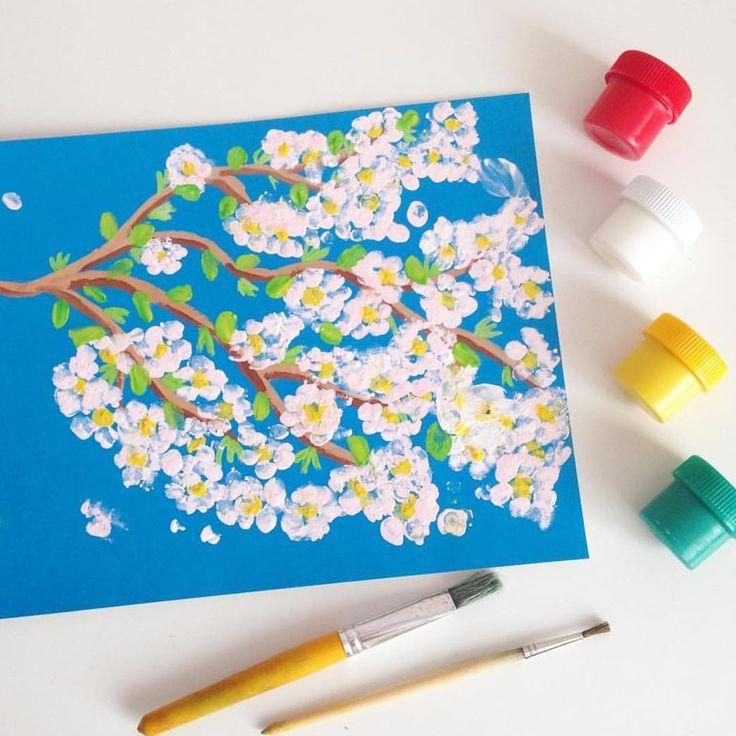 это картинки рисование ватными палочками в доу много разных