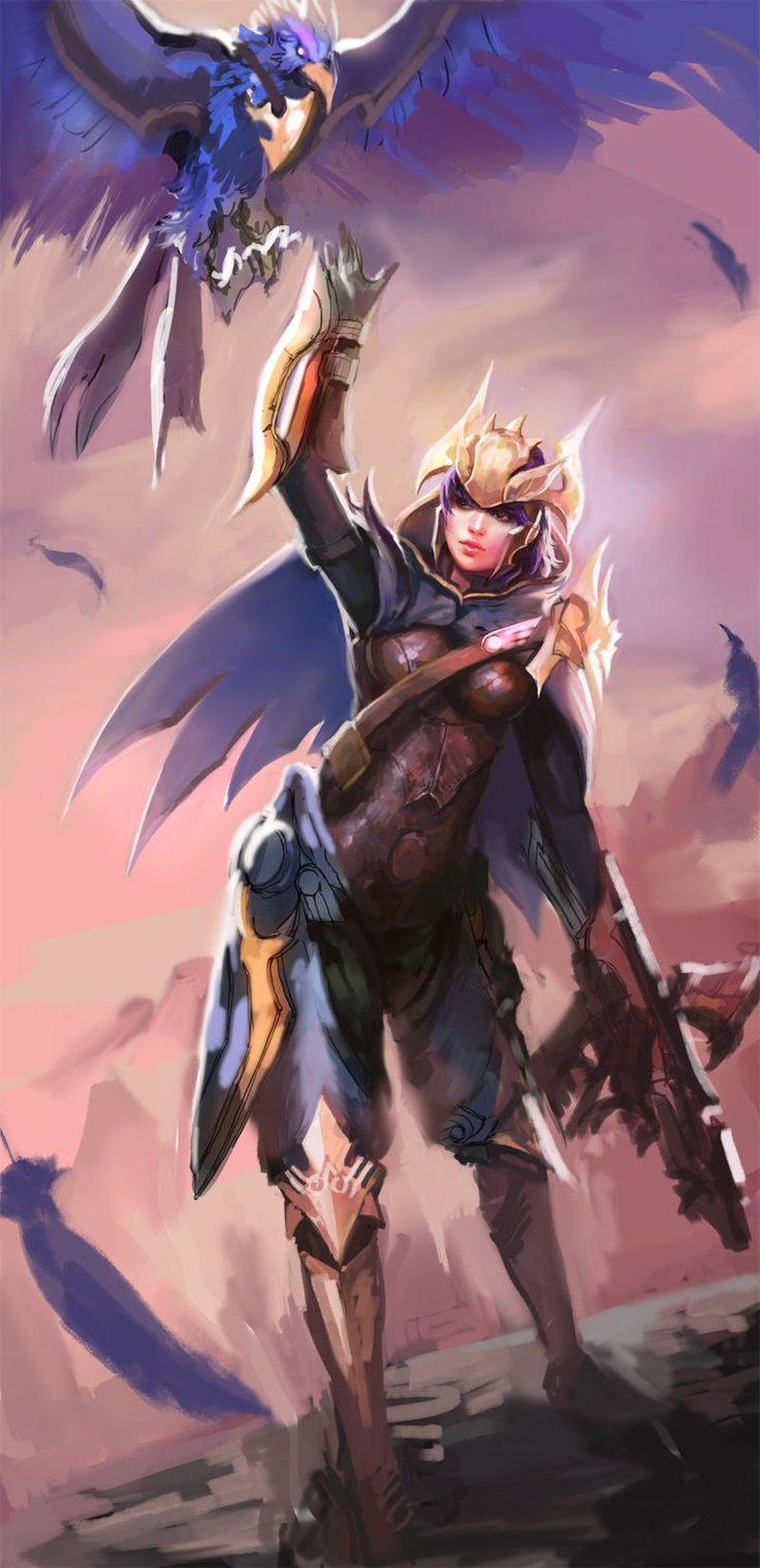 League of Legends artwork, sketches by Dopey http://Inven.kr - Imgur