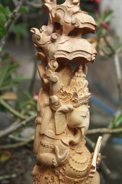 Sandal Wood Carving Bali
