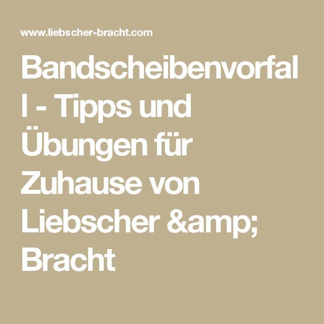 Bandscheibenvorfall - Tipps und Übungen für Zuhause von Liebscher & Bracht
