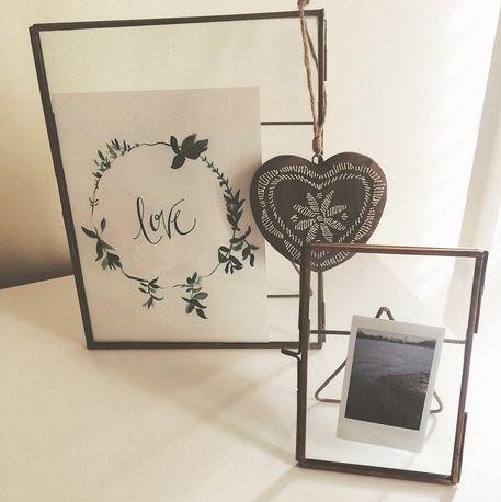 decorating - zinc frames - photos   http://instagram.com/panida_w/