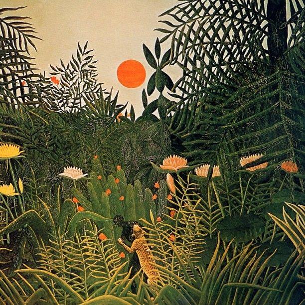 Le Douanier Rousseau - Sunbeam Jackie Parasols