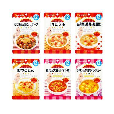 キユーピー ハッピーレシピ <ひじきあんかけハンバーグ><肉どうふ><白身魚と根菜の和風煮><おやこどん><豚肉と大豆のトマト煮><チキンのかぼちゃシチュー> - 食@新製品 - 『新製品』から食の今と明日を見る!