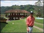 Coffee plantation house in Salento, Colombia