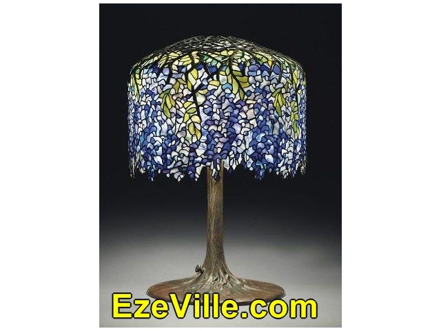 Gorgeous  Tiffany Lamps Worth
