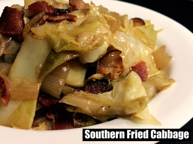 Southern Fried Cabbage | Aunt Bee's Recipes