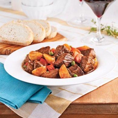 Mijoté de boeuf aux légumes et à la bière - Recettes - Cuisine et nutrition - Pratico Pratique