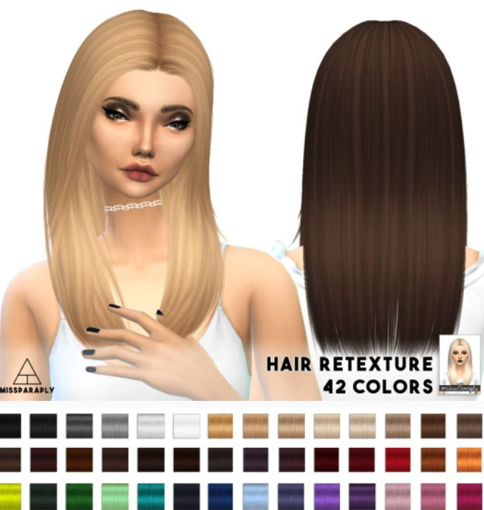 Miss Paraply: Nightcrawler's New Yorker hairstyle retextured - Sims 4 Hairs - http://sims4hairs.com/miss-paraply-nightcrawlers-new-yorker-hairstyle-retextured/