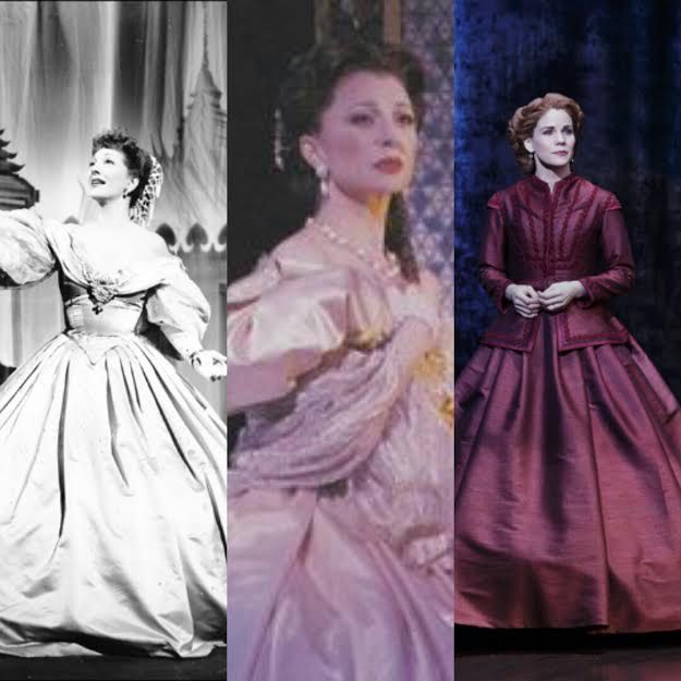 Anna Leonowens-The King and I Gertrude Lawrence, Donna Murphy, Kelli O'Hara