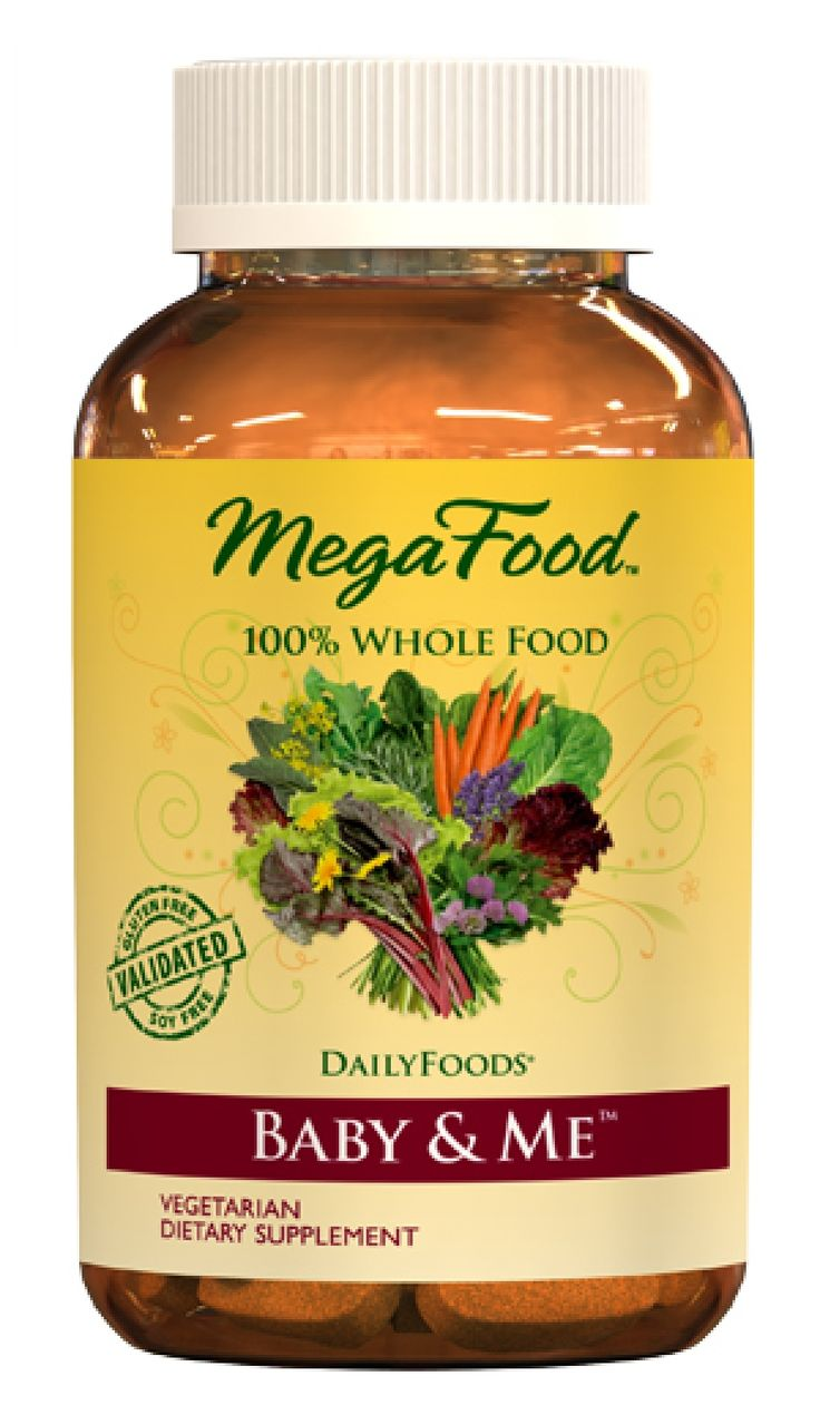 Mega Food Baby and Me. Whole food vitamins are easier to digest and better absorbed by your body!