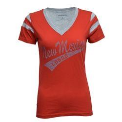 Women's Camp David T-shirt New Mexico Lobos Red