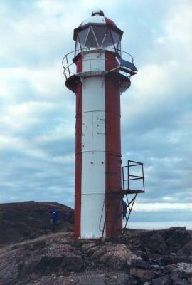 Brigus Point Lighthouse, Newfoundland, Canada