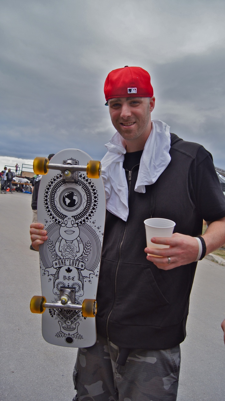 Canadian Hip Hop recording artist, Classified picked up a LBL x BSC complete at Wakestock 2012