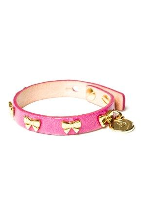 Syster P Croco Bow Bracelet, how cute?