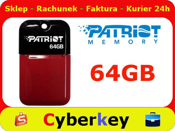 NOWY PenDrive 64GB PATRIOT Xporter Jibe USB 2.0